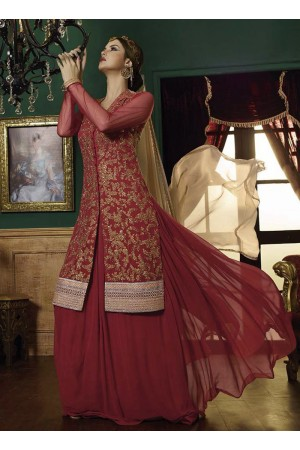 Aristocratic Embroidered Work A Line Lehenga Choli