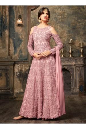 Sonal Chauhan Lavender Anarkali Suit 5106