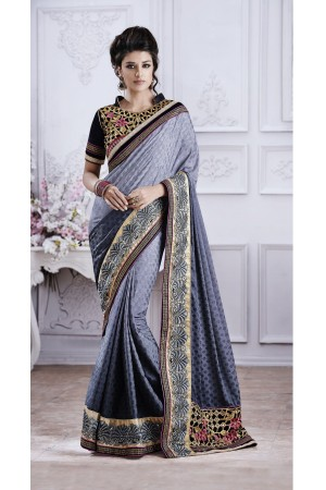 Party-wear-Grey5-color-saree