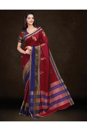 Mysha Malhar Pink Designer Saree