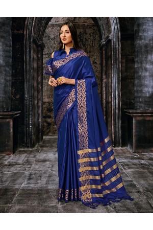 Suvena Designer Wear Cotton Saree