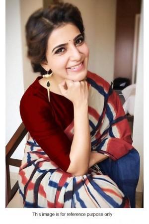 Bollywood Samantha georgette print saree