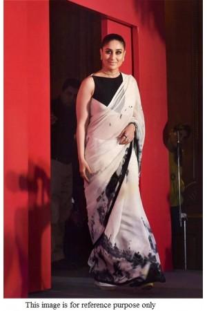 Bollywood Kareena kapoor inspired pure organza  saree