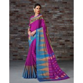 Aakansha Festive Wear Cotton Saree