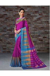 Aakansha Festive Wear Cotton Saree