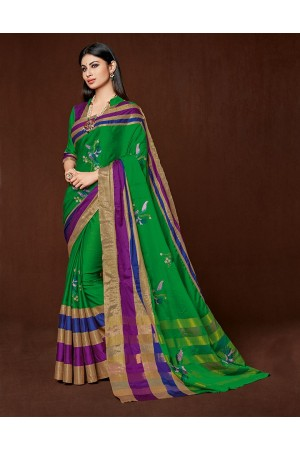 Aanya Designer Wear Cotton Saree