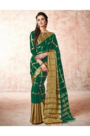 Aashi Tender Green Cotton Green