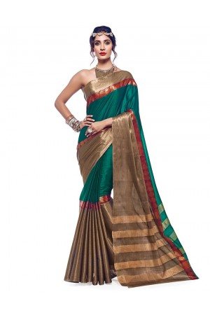 Aazeen Designer Cotton Saree