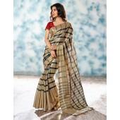 Alaka Designer Wear Cotton Saree
