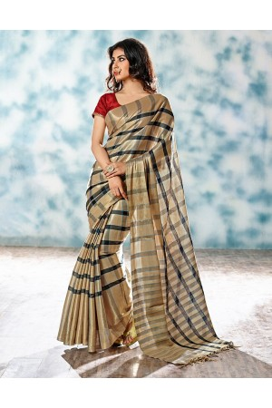 Alaka Designer Wear Cotton Saree