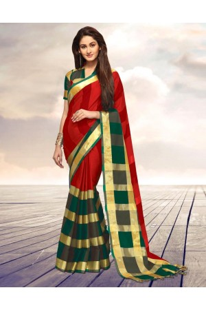 Areesa Flame Party Wear Cotton Saree