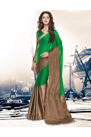 Aryaa Lush Party Wear Cotton Saree