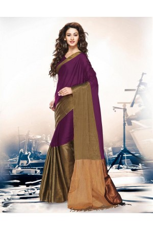 Aryaa Sangria Party Wear Cotton Saree