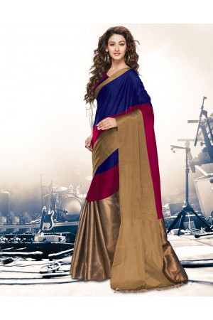 Aryaa Symphony Ruby Party Wear Cotton Saree