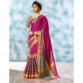 Atisha Designer Wear Cotton Saree