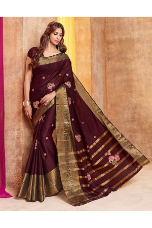 Gehna Designer Wear Cotton Saree
