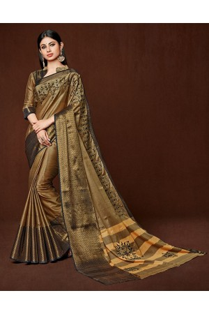 Hyma Designer Wear Cotton Saree