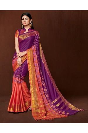 Jasima Designer Wear Cotton Saree