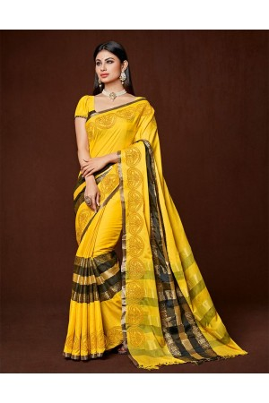 Jency Designer cotton saree