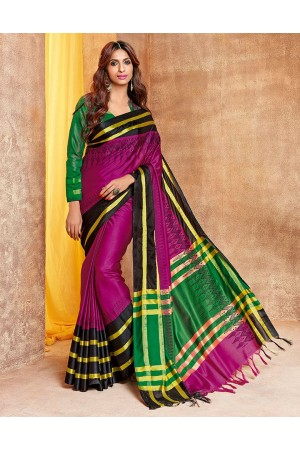 Jhankaar Designer Wear Cotton Saree