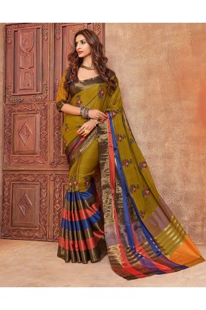 Kalira Designer Wear Cotton Saree