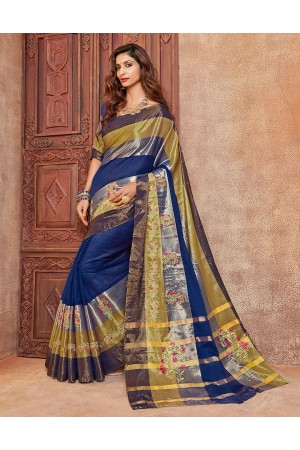 Kangan Designer Wear Cotton Saree