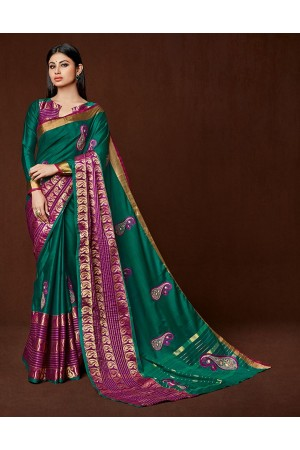 Miraan Designer Wear Cotton Saree