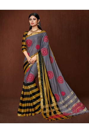 Moshika Designer cotton saree