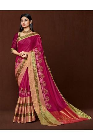 Omysha Designer cotton saree