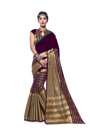 Ora Sangria Designer Wear Cotton Saree