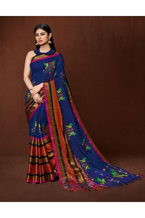 Oshee Designer cotton saree