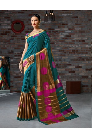 Ruyaa Festive Wear Cotton Saree