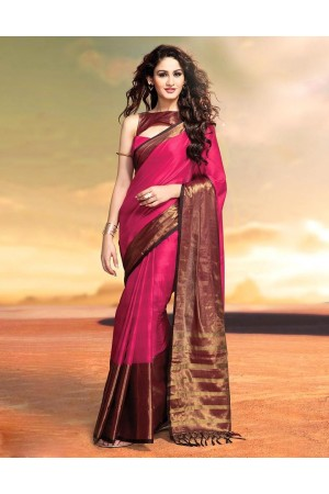 Sana Shine Party Wear Cotton Saree
