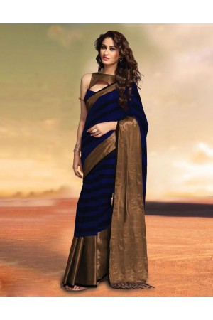 Sana Synmphony Party Wear Cotton Saree