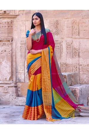 Shaira Wedding Wear Cotton Saree