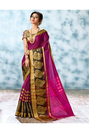 Shalom Designer Cotton Saree
