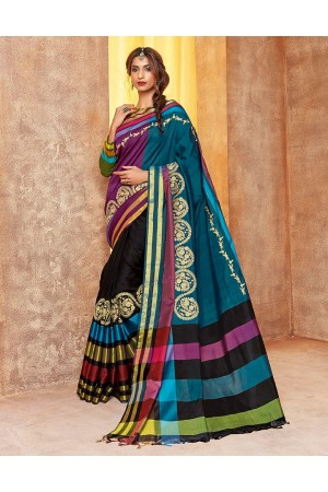 Sindoor Designer Wear Cotton Saree