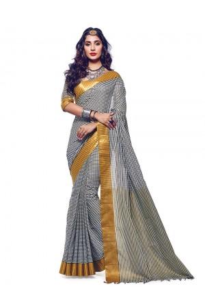 Tansi Designer Cotton Saree