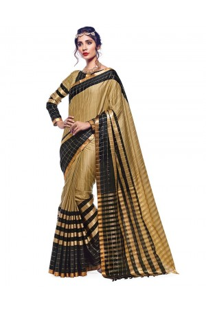 Vashti Cotton Saree