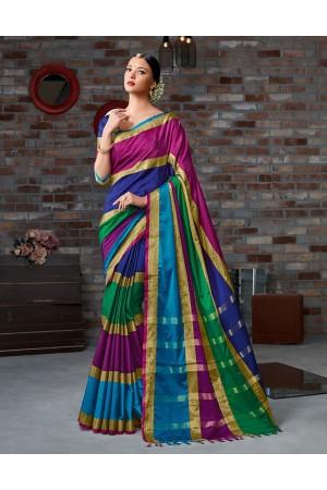 Vinaya Festive Wear Cotton Saree