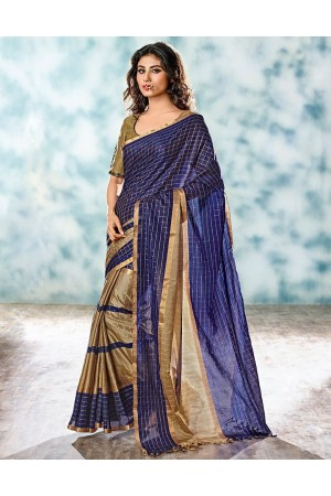 Yani Designer Cotton Saree