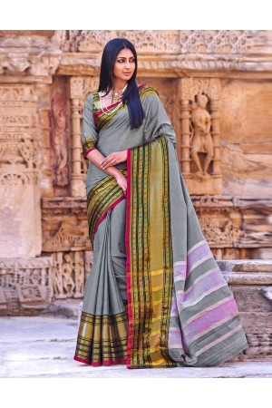 Zariyah Party Wear Cotton Saree