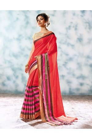 Zobia Designer Cotton Saree