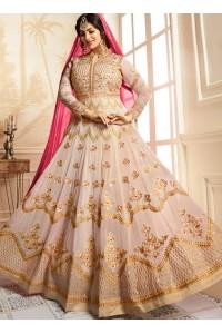 Ayesha Takia Beige color georgette party wear salwar kameez