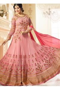 Ayesha Takia Pink color georgette party wear salwar kameez