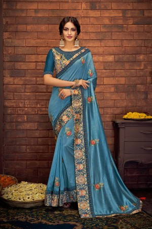 Indian wedding wear saree 13401