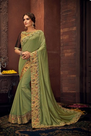 Indian wedding wear saree 13402