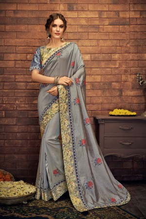 Indian wedding wear saree 13407
