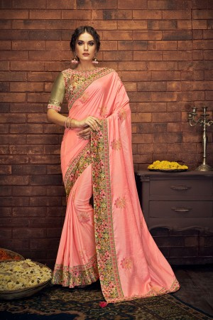 Indian wedding wear saree 13411