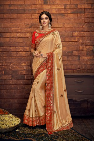 Indian wedding wear saree 13412